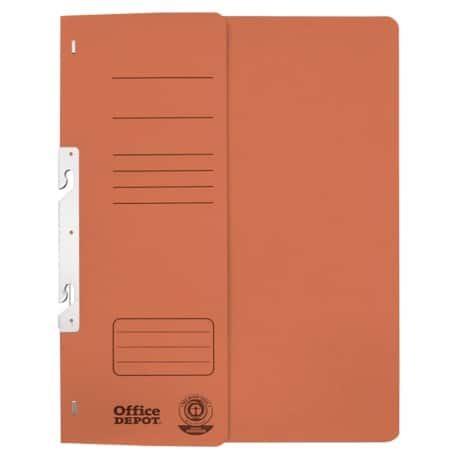 Office Depot Einhakhefter DIN A4 Orange Manila