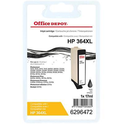 Kompatible Office Depot HP 364XL Tintenpatrone CN684EE Schwarz
