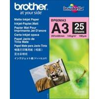 Brother BP60MA3 Fotopapier DIN A3 145 gsm Weiß 25 Blatt