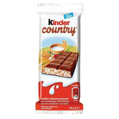Kinder Schokoriegel Kinder Country 40 Stück à 23.5 g