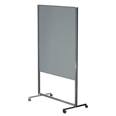 Legamaster Mobile Moderationswand Professional Filz Mit 4 Rollen 120 x 150 cm Grau