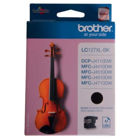 Brother LC127XLBK Original Tintenpatrone Schwarz