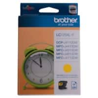 Brother LC125XLY Original Tintenpatrone Gelb