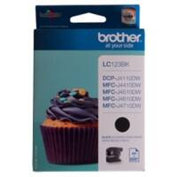 Brother LC123BK Original Tintenpatrone Schwarz