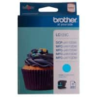 Brother LC123C Original Tintenpatrone Cyan