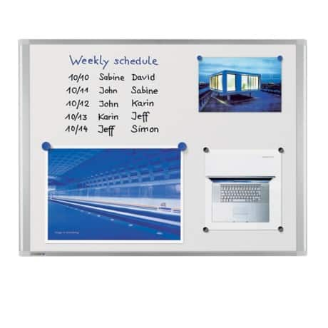 Legamaster Dynamic Whiteboard Emaille Magnetisch 180 x 120 cm