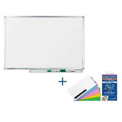 Legamaster Professional Whiteboard Emaille Magnetisch 150 x 100 cm
