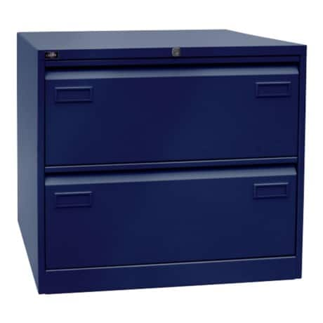 Bisley Light Hängeregistraturschrank Oxfordblau 80 x 62,2 x 71,1 cm