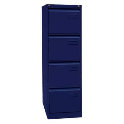 Bisley Light Hängeregistraturschrank Oxfordblau 413 x 622 x 1.321 mm