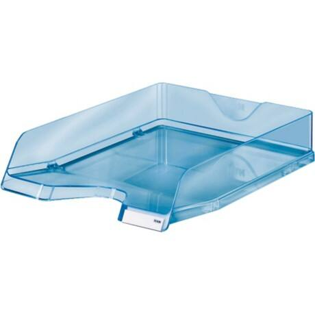 Viva Briefablage/10275-26 C4 blau transparent