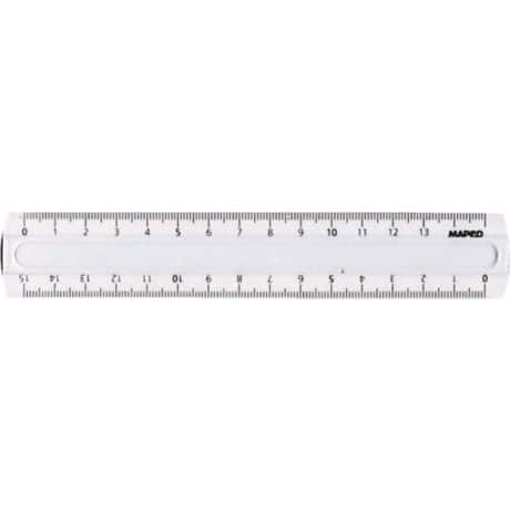 Maped Lineal 16cm, M146507, 15cm