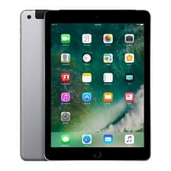 "Apple iPad Wi-Fi + Cellular 24,6 cm (9,7"") 128 GB Space Grau"