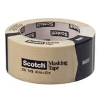 Scotch Malerabdeckband Basic 48 mm x 50 m Braun