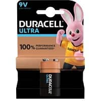 Duracell 9 V Alkali-Batterien Ultra Power MX1604 6LR61 9 V