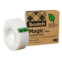 Scotch Magic A Greener Choice Klebeband Unsichtbar Matt 19 mm x 30 m