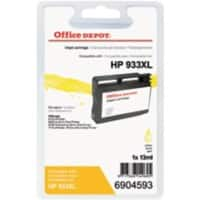 Kompatible Office Depot HP 933XL Tintenpatrone CN056E Gelb