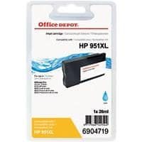 Kompatible Office Depot HP 951XL Tintenpatrone CN046AE Cyan