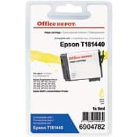Kompatible Office Depot Epson 18XL Tintenpatrone Gelb
