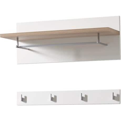 GERMANIA Wandgarderobe Oslo Sanremo Eiche Nb. 760 x 350 x 530 mm