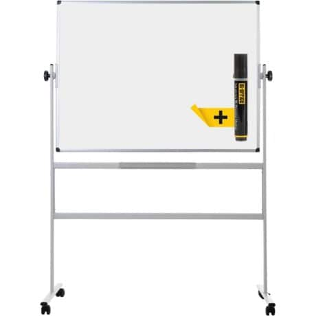 Bi-Office Earth Drehbares Whiteboard Emaille Magnetisch 150 x 120 cm