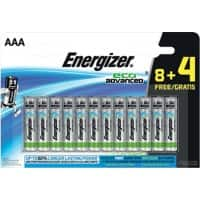 Energizer Batterien Eco Advanced AAA 12 Batterien