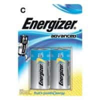Energizer Batterie Eco Advanced C 2 Stück