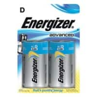 Energizer Batterien Eco Advanced D 2 Stück