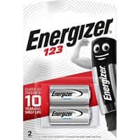 Energizer Batterien Photo 123 CR17345 3 V Lithium 2 Stück