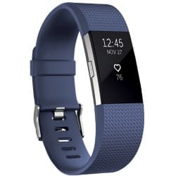 Fitbit Fitness-Schlaf-Armband Charge 2 S Blau