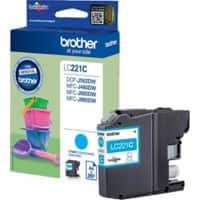 Brother LC221C Original Tintenpatrone Cyan