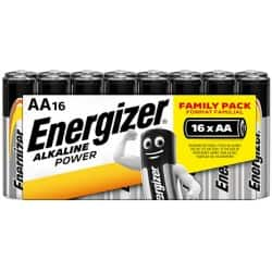 Energizer Batterien Alkaline Power AA 16 Batterien