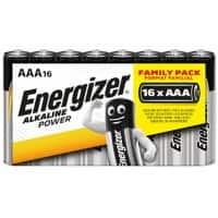 Energizer Batterien Alkaline Power AAA 16 Batterien
