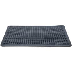 Floortex Fussbodenmatte Anti-Fatigue Schwarz 78 x 71 cm