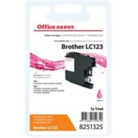 Kompatible Office Depot Brother LC123M Tintenpatrone Magenta