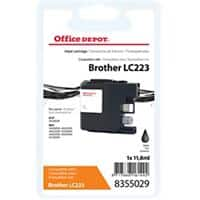 Kompatible Office Depot Brother LC223BK Tintenpatrone Schwarz