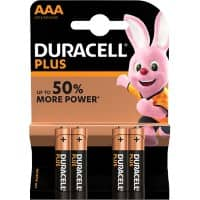 Duracell Batterie Plus Power AAA 4 Stück