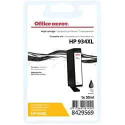 Kompatible Office Depot HP 934XL Tintenpatrone C2P23AE Schwarz