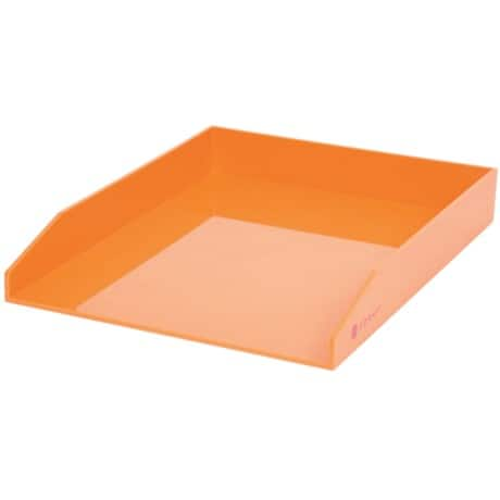 Foray Generation Briefablage Kunststoff Orange 25,1 x 31,3 x 4,5 cm