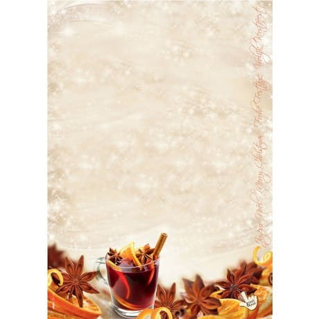 Sigel Weihnachts Briefpapier Christmas Flavour Din A4 90 G M
