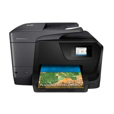 HP Officejet Pro 8710E Farb Tintenstrahl All-in-One Drucker DIN A4