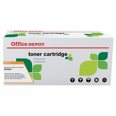 Kompatible Office Depot Brother TN-326B Tonerkartusche Schwarz