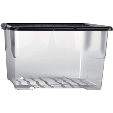 niceday aufbewahrungsbox 65 l glasklar kunststoff 40 x 60 x 37 cm viking deutschland. Black Bedroom Furniture Sets. Home Design Ideas