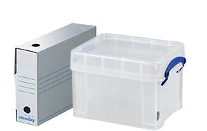 Büroartikel - Archivschachteln und Aufbewahrungsboxen